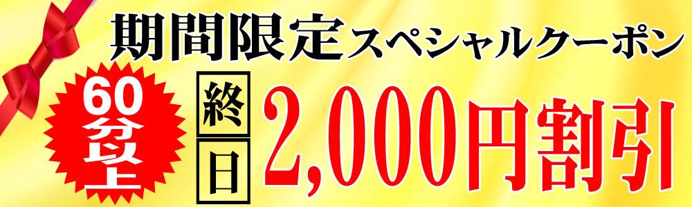 終日2,000円割引