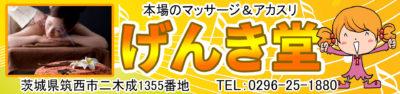 【げんき堂】茨城/筑西