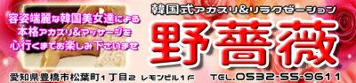 【野バラ】豊橋/愛知